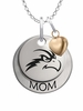 North Florida Ospreys MOM Necklace with Heart Charm