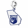 North Georgia Nighthawks Logo Dangle Charm