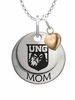 North Georgia Nighthawks MOM Necklace with Heart Charm