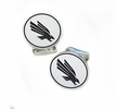 North Texas Mean Green, Eagles Sterling Silver Cufflinks