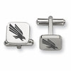 North Texas Mean Green Stainless Steel Cufflinks