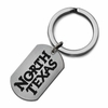 North Texas Mean Green Stainless Steel Key Ring