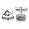 Northern Illinois Huskies Stainless Steel Cufflinks