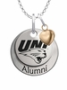 Northern Iowa Panthers Alumni Necklace with Heart Accent