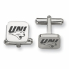 Northern Iowa Panthers Stainless Steel Cufflinks