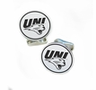 Northern Iowa Panthers Sterling Silver Cufflinks