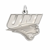 Northern Iowa Panthers Natural Finish Charm