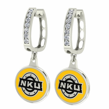 Northern Kentucky CZ Hoop Earrings