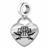 Northern Kentucky Engraved Heart Dangle Charm
