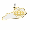 Northern Kentucky Norse Cutout Logo Charm