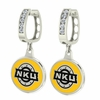 Northern Kentucky Norse CZ Hoop Earrings