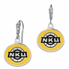 Northern Kentucky Norse Enamel CZ Cluster Earrings