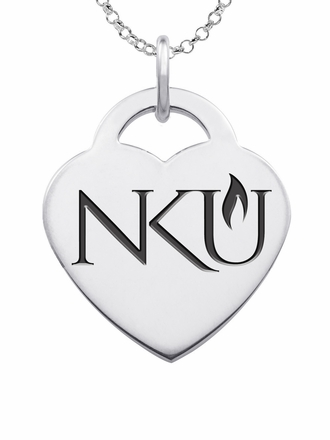 Northern Kentucky Norse Heart Charm