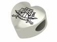 Northern Kentucky Norse Heart Shape Bead