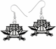 Northern Kentucky Norse Logo Drop Earrings