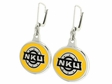 Northern Kentucky Norse Silver Enamel Earrings