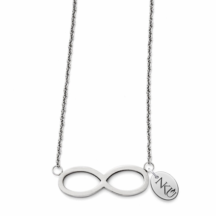 Northern Kentucky Norse Stainless Steel Infinity Necklace