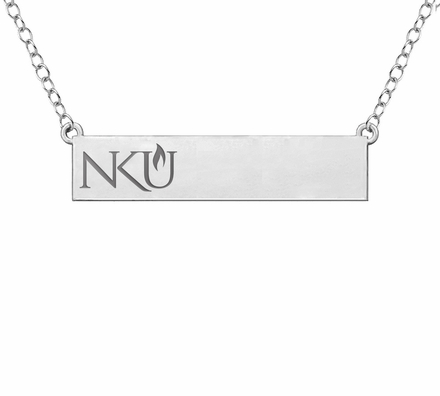 Northern Kentucky Norse Sterling Silver Bar Style Necklace