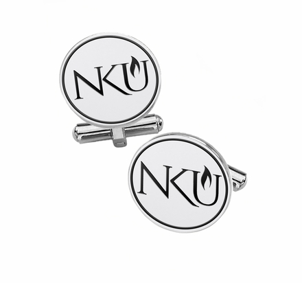 Northern Kentucky Norse Sterling Silver Cufflinks