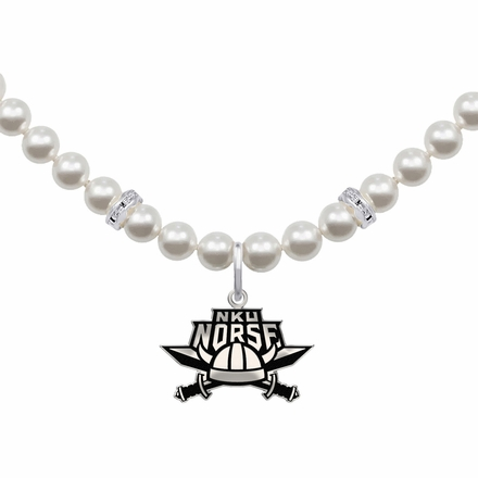 Northern Kentucky Norse White Pearl Necklace