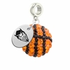 Northwestern State Demons Crystal Drop Charm