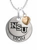 Northwestern State Demons MOM Necklace with Heart Charm