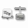 Northwestern State Demons Stainless Steel Cufflinks