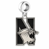 Northwestern Wildcats Logo Cut Out Dangle