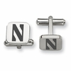 Northwestern Wildcats Stainless Steel Cufflinks