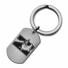 Northwestern Wildcats Stainless Steel Key Ring