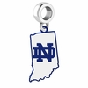 Notre Dame Fighting Irish Logo Dangle Charm