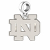 Notre Dame Fighting Irish Dangle Charm
