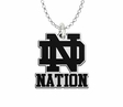 Notre Dame Fighting Irish Spirit Mark Charm