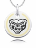 Oakland Golden Grizzles Round Enamel Charm