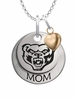 Oakland Golden Grizzlies MOM Necklace with Heart Charm