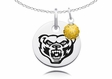 Oakland Golden Grizzlies Necklace with Crystal Ball Accent