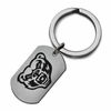 Oakland Grizzlies Stainless Steel Key Ring