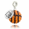 Ohio Bobcats Crystal Drop Charm