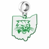 Ohio Bobcats Logo Dangle Charm