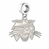 Ohio Bobcats Natural Finish Dangle Charm