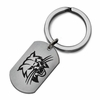 Ohio Bobcats Stainless Steel Key Ring
