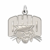 Ohio Bobcats Natural Finish Charm