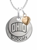 Ohio Bobcats with Heart Accent