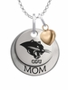 Ohio Dominican Panthers MOM Necklace with Heart Charm