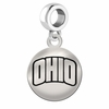 Ohio Round Dangle Charm