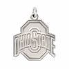 Ohio State Buckeyes Natural Finish Charm