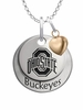 Ohio State Buckeyes with Heart Accent