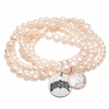 Ohio State Pearl Coin Bracelet
