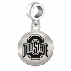 Ohio State Round Dangle Charm