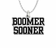 Oklahoma Sooners Spirit Mark Charm